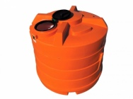 Double-shell tank with capacity 200 - 9000 liters for aggressive chemicals