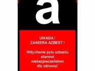 Worki na azbest, worki do pakowania azbestu