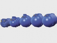 Zbiorniki z tworzywa sztucznego (HDPE) na deszczówkę/szambo/ścieki - Aquatechnika