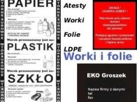 Worki i folie LDPE, opakowania…