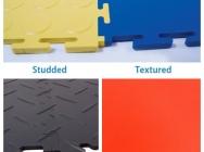 Chequer Plate Posadzki przemysłowe płytki płyty podłoga PVC 4mm