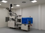 Services on Clean Room injection molding machines - Clean room - production for medicine