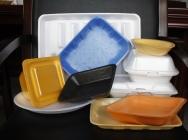 Linia do produkcji talerzy, tacek i opakowań z pianki polistyrenowej.