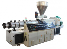 Conical twin screw extruders…