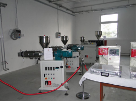 Laboratory extruder for…
