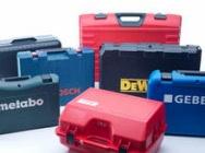 Skrzynki walizki narzędziowe, kufry skrzynie Plaston na narzędzia i części techniczne