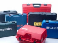 Boxes suitcases, trunks boxes Plaston for tools and technical parts