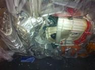 Odpad HDPE/PP skrzynki mix
