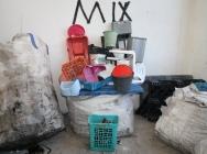 Plastic waste PP-mix