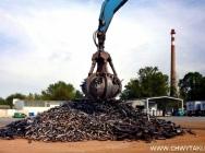 Chwytaki do złomu, odpadów komunalnych i materiałów sypkich