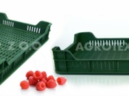 Skrzynki Plastikowe na owoce miękkie - malinówki
