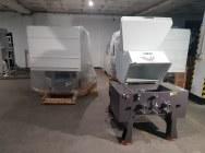 Młyn granulator do tworzyw sztucznych SG-600F moc 15kW