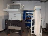 Młyn granulator kruszarka SG-800F moc 22kW do mielenia odpadów z tworzyw