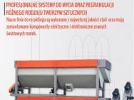 Linie do recyklingu PE, PP