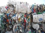 Mix odpadów na do sortowania