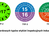 Etykiety inspekcyjne - Naklejki przeglądów - Industriel