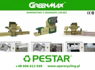 Maszyny do recyklingu tworzyw sztucznych - kompaktory / prasy ślimakowe / brykieciarki.