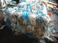 Sznurek zbelowany porolniczy odpad