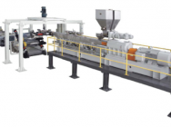 Extrusion line for cast…