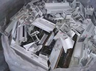 Odpad - Profile PVC okienne poprodukcyjne