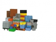 Transport boxes, storage boxes, workshop cues Budeco - the largest offer