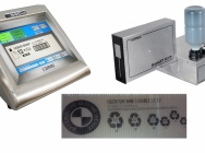 Drukarka do kartonów powlekanych, plastikowych pojemników, wysokiej rozdzielczości.