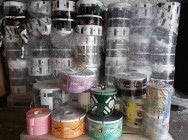 Folia poprodukcyjna na rolkach mix i metaliza - poprodukcja ponad 20 ton