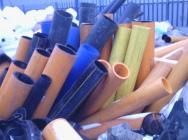 Odpad rury HDPE