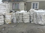 Big bagi zbelowane po jednorazowym użyciu całe i do recyklingu