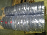 PVC folia blister. Transparent