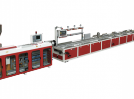 Extrusion line for WPC…
