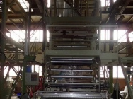 Linia do Produkcji Folii Dwuwarstwowej LLDPE, LDPE i HDPE