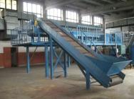 Linia Sortownicza Recykling Młyn Szer.100CM 45KW