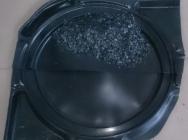 HDPE przemiał czarny, foliowy