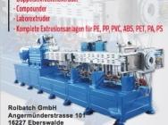 Linie do produkcji granulatów, regranulatów, compoundów Rbooe/010