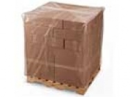 Protective foil hoods for pallets / big bags