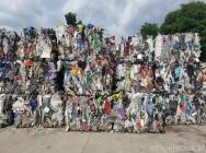 PP/PE wiaderka miski itp odpad zbelowany