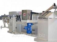 Tulejarka 3 taśmowa do produkcji rur papierowych z odcinakiem dwunożowym