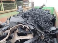 Mix tworzyw PP, PUR, PVC - odpad poprodukcyjny