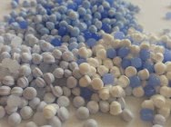 HDPE granulat niebieski