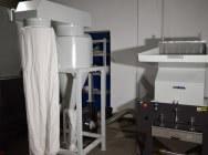 Młyn granulator szybkoobrotowy do tworzyw SG-600F moc 15kW + Odciąg z odpylaniem
