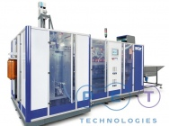 Automatic stretch blow molding machine Apf - 30
