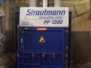 Belownica prasa do foli odpadów makulatury Strautmann 1200 bela 500 kg