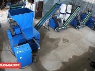 Master linia do recykling kabli 350kg/h