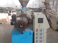 Wytłaczarka / kompletna linia do wytłaczania profili PVC Sjz55