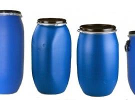 New plastic barrels with…