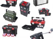 Skrzynki narzędziowe i pojemniki na elektronarzędzia - różne rozmiary - Tanio.