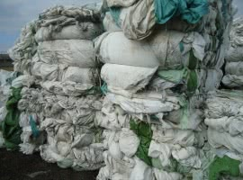 LLDPE foil after silage…