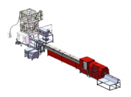 Line for extrusion of foamed PS profiles - Rolbatch GmbH