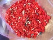 LDPE przemiał wtryskowy kolor
